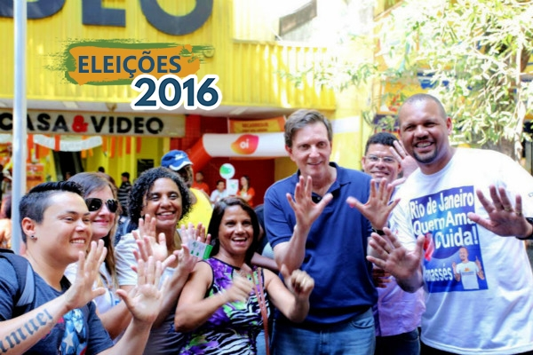 Crivella inicia campanha na Zona Oeste e saúde é prioridade