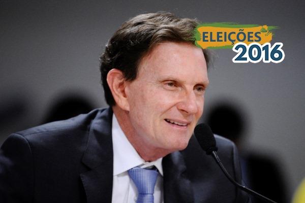 Crivella é o preferido dos cariocas na disputa pela prefeitura do Rio de Janeiro em outubro.