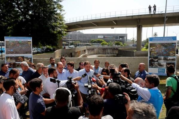 Crivella inaugura o maior túnel de drenagem urbana do país