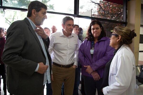 RJ: prefeito visita hospital referência na saúde da mulher