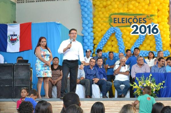 Marcelo Gouveia participa de Convenção Municipal em Dois Riachos (AL)