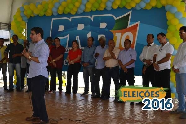 Marcelo Gouveia participa de convenção municipal do PRB Maceió