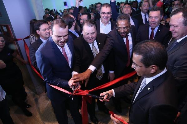 Márcio Marinho participa de inauguração da nova sede nacional do PRB