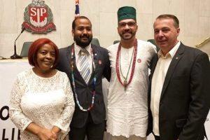 Marcos Abdala participa de solenidade em comemoração à liberdade religiosa