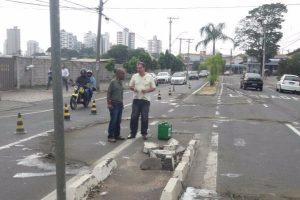 Vereador Marcos Abdala garante construção de rotatória em bairro de Piracicaba