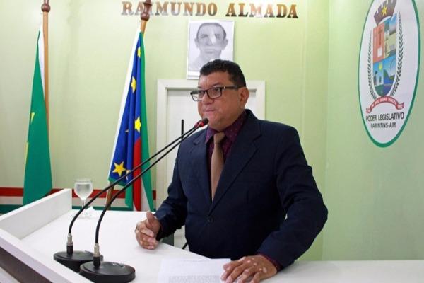 Em discurso, Marcos da Luz relata participação em reunião sobre seguro-defeso