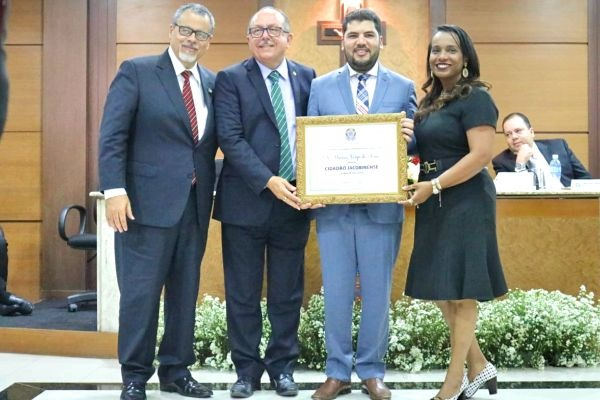 Ministro Marcos Jorge recebe o Título de Cidadão de Jacobina (BA)