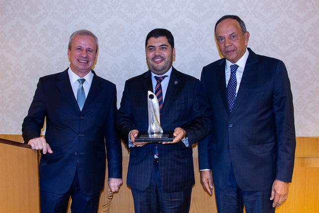 "Ministro Marcos Jorge recebe o título de ""Personalidade do Aço"" de 2018"