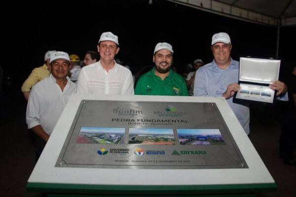 Marcos Jorge destaca o lançamento de usina de etanol em Roraima