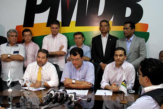 Pereira sela apoio do PRB a Eduardo Braga para governo do Amazonas