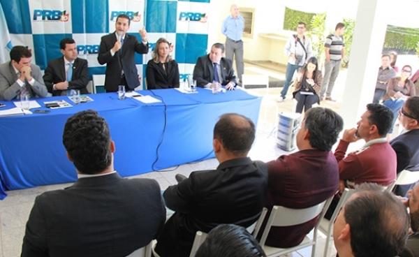 Em Brasília, Pereira abona filiação de pastor Egmar, ex-presidente do PSC no DF