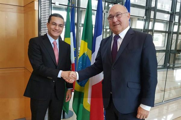 Ministros do Brasil e da França querem acordo Mercosul-UE em 2018