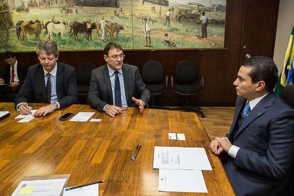 Marcos Pereira se reúne com presidente da Federação das Indústrias do Mato Grosso do Sul