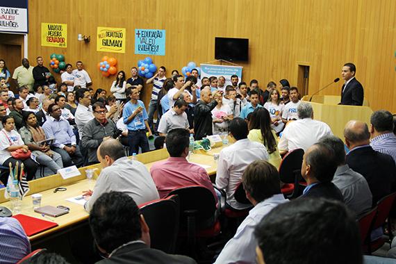 """""""Serei candidato a presidente"""", diz Pereira em encontro do PRB"""