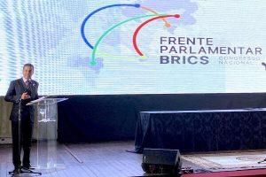 Em jantar dos Brics, Marcos Pereira defende reformas no Brasil