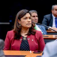 Maria Rosas apoia projeto de proteção às mulheres e vulneráveis