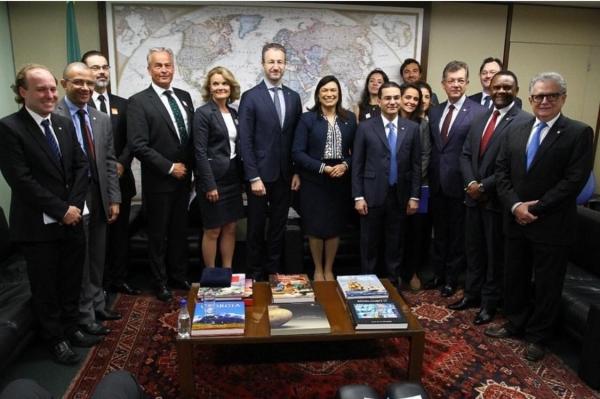 Grupo Parlamentar de Amizade Brasil - Suécia é reinstalado na Câmara