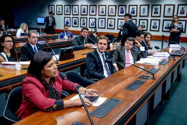 Maria Rosas defende projeto que protege direitos da criança