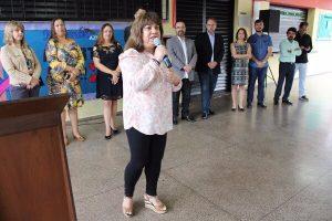 Marilda Portela assina termo para início de obras em escola de Belho Horizonte (MG)