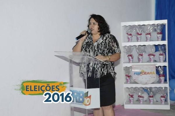 Coordenadora do PRB Mulher Fortaleza busca vereança na capital cearense
