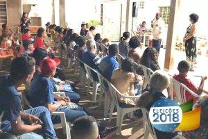 Em campanha, Marlucio Pereira defende investimentos na educação e segurança pública