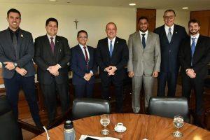 Mecias de Jesus discute temas de interesses de Roraima com ministro da Casa Civil