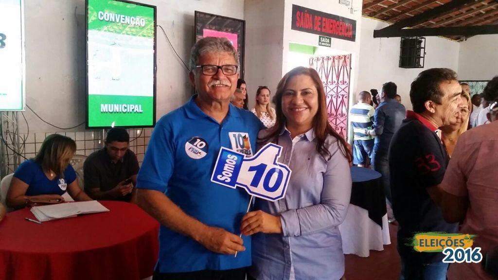 Miguel Lauand registra candidatura a prefeito de Itapecuru Mirim (MA)