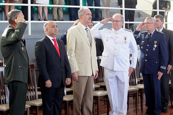 Ministro George Hilton recebe Medalha Mérito Desportivo Militar, no Rio de Janeiro