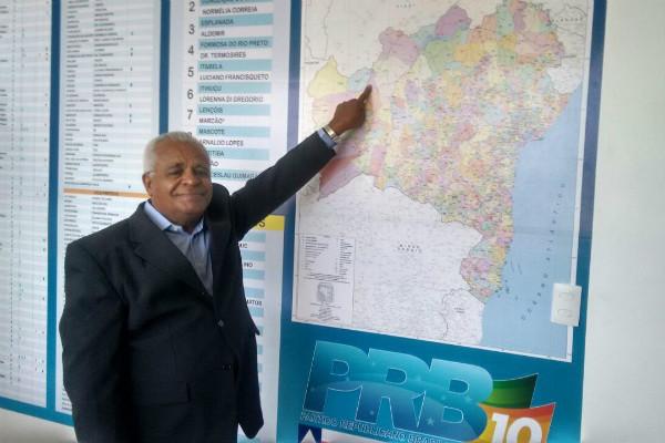 Mizael Gomes se filia ao PRB