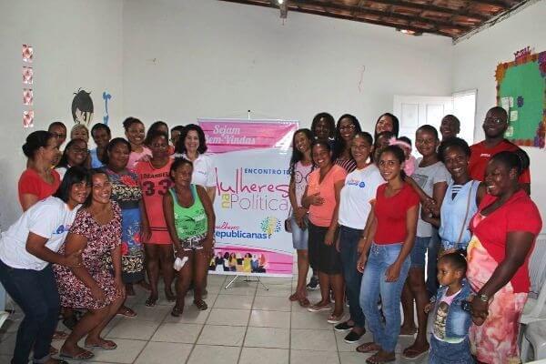 Mulheres Republicanas capacita mulheres em Cajazeiras (BA)