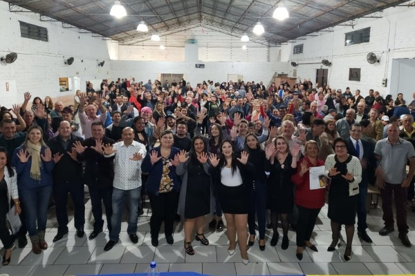 Empossada a nova Executiva do Mulheres Republicanas em Caraá (RS)