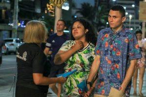 """Republicanas de Fortaleza vão às ruas para a campanha """"Do Luto à Luta"""""""