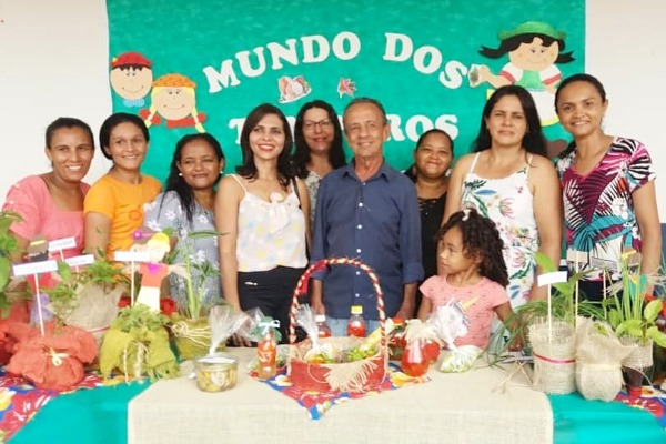 Escolas municipais de Lagoa da Confusão estimulam jovens empreendedores