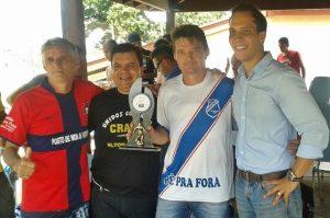 Nilton Santos apoia Campeonato de Veteranos em Limeira