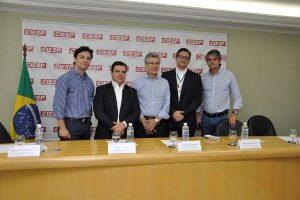 Nilton Santos participa do lançamento da I Semana do Jovem Empreendedor