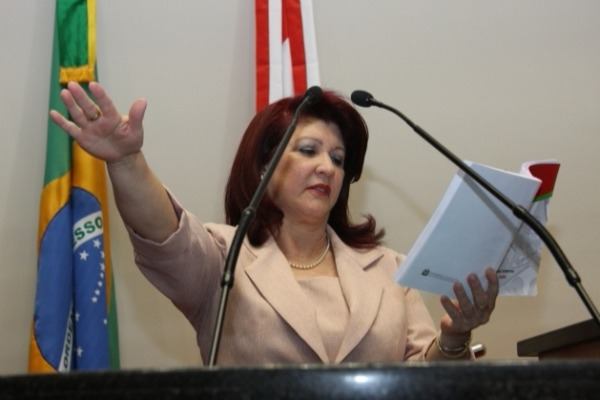 Professora Odete de Jesus retorna ao Parlamento catarinense