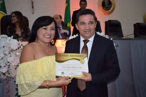 Deputado Oliveira recebe Título de Cidadão Amapaense