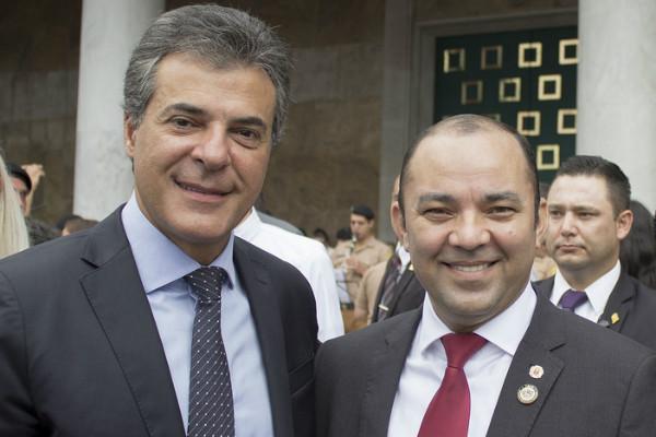 Vereador Osias Moraes participa da formatura de novos soldados em Curitiba (PR)