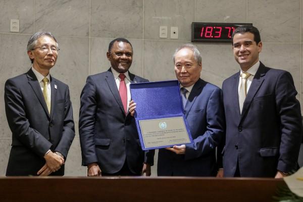 Ossesio Silva comemora Dia Nacional da Imigração Japonesa