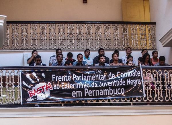 A pedido de Ossesio Silva, Alepe discute extermínio da juventude negra em Pernambuco