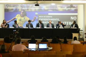 Ossesio Silva participa de debate sobre racismo no futebol