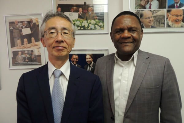 Ossesio Silva se reúne com novo cônsul do Japão em Recife