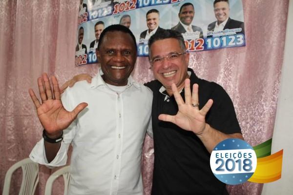 Ossesio Silva e William Brigido participam de encontro em Camaragibe