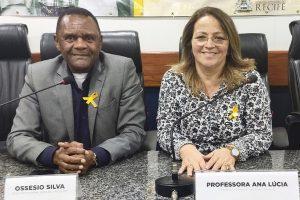 Ossesio Silva discute propostas de prevenção ao suicídio em Recife