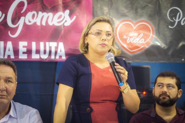 Patriciana Guimarães participa de apresentação da lei de combate ao feminicídio