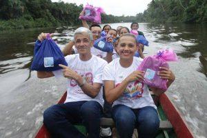 Patriciana Guimarães promove campanha de doação solidária em Pedreira, Amapá