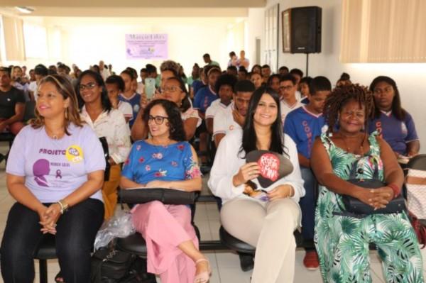 Paulo Falcão encerra atividades do projeto Março Lilás