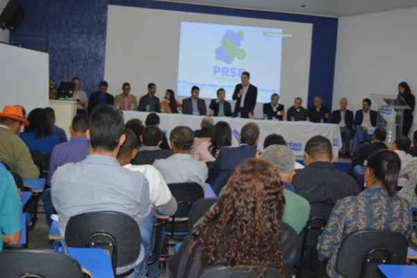 Amélia Rodrigues e região ganha plano regionalizado de saneamento básico
