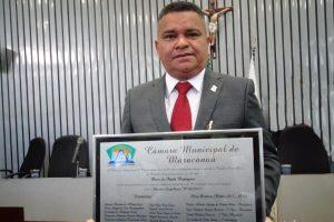Vereador Pedro Rodrigues recebe Título de Cidadão Honorífico de Maracanaú (CE)