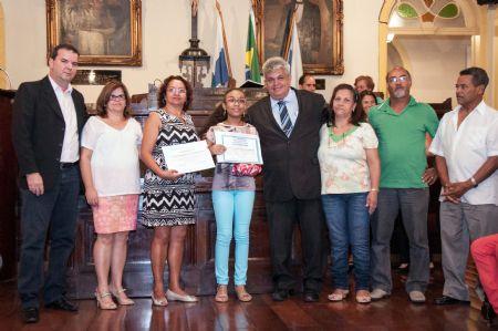Por iniciativa de Jaime Alves, alunos de Barra Mansa são premiados em concurso de redação